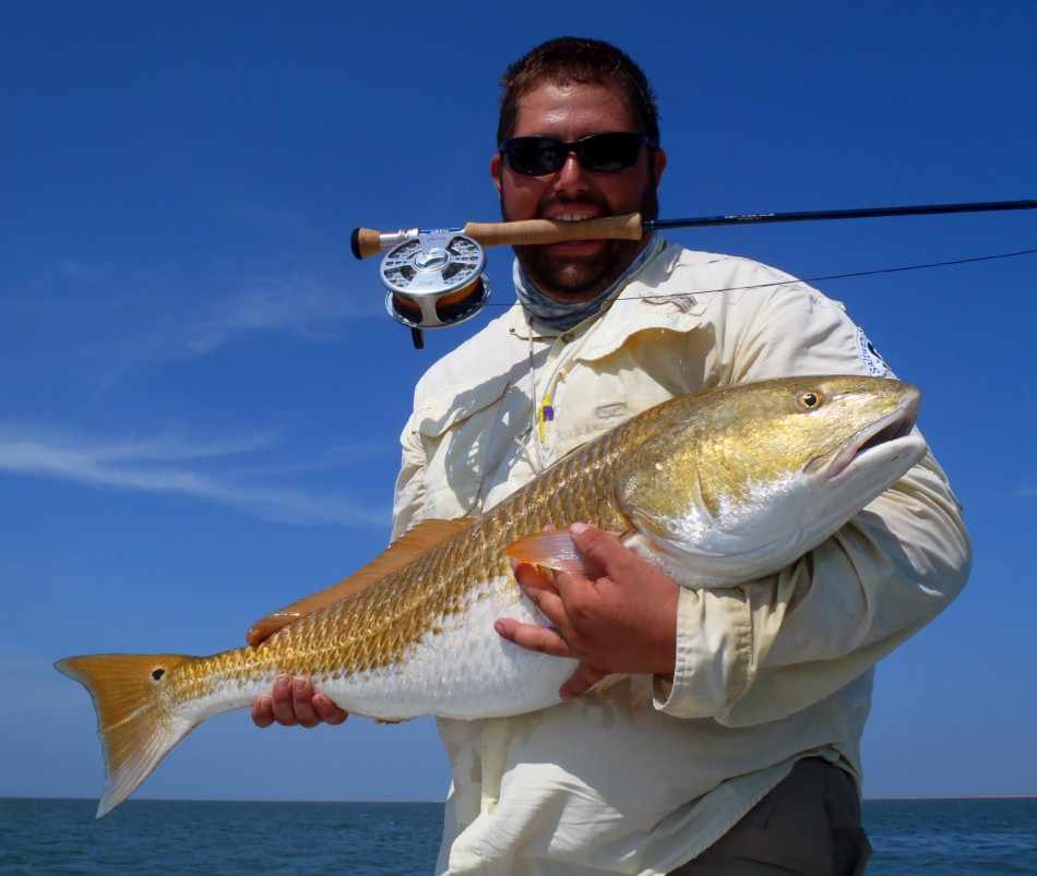 Grand Isle Bull Red Fly Fishing 022